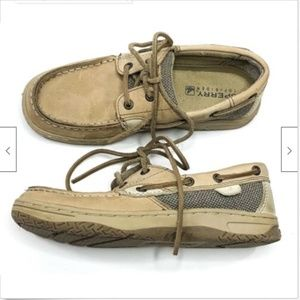 Sperry Top Sider Leather Bluefish Boat Shoes 2